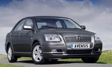 ������� ���� �������� ������������� ������������ �� ������������ ����������� Toyota Camry � Toyota Avensis